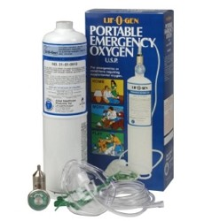 Portable Oxygen  15 Minute Oxygen Tank  Emergency Oxygen  Medical Oxygen