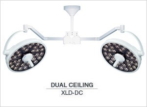 Medical Illumination MI-1000 LED Surgical Light-Dual Ceiling