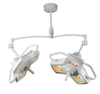 Double Ceiling Mount Surgical-OR Lights Philips Burton AIM-200 A200DC