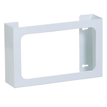 Clinton Triple White Steel Glove Box Holder