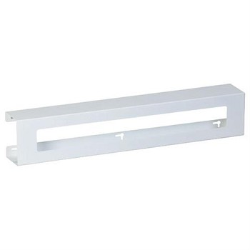 Clinton Triple Slimline White Steel Glove Box Holder