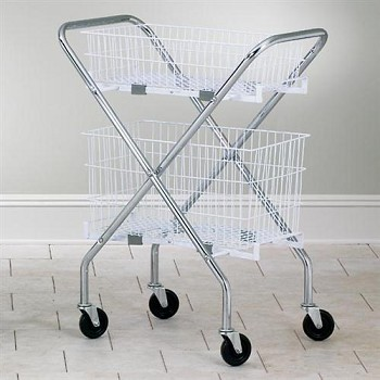 Clinton Chrome Plated Folding Cart Frame
