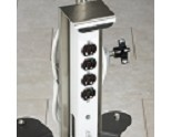 IV Pole 4 Outlet Strip by Clinton Industries IV-50