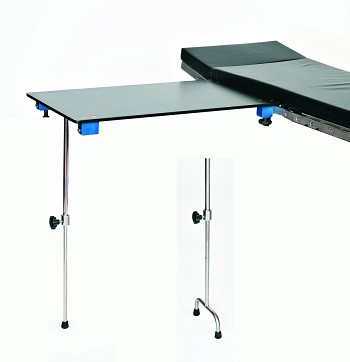 Carbon Fiber BD315 Single Post Leg Hand Surgery Table with 2 Inch Pad Clamps BD315