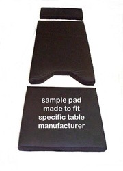 1080 2080 Blue Diamond OR Table Pad by David Scott Amsco Steris Three Piece 1300-Combo