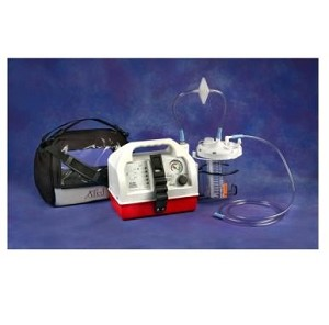 Gomco Optivac Suction Pump - G180 Vaccum Pump - AC-DC Portable Aspirator