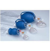 Latex-Free Disposable Infant Cuffed Bag Mask with Aerosol Reservoir and Relief Valve  6 per case