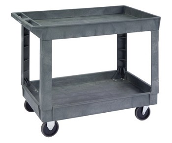 Plastic Deep Well Utility Cart by Lakeside 2523