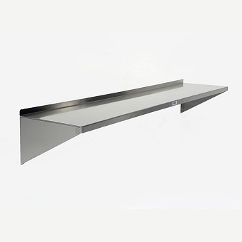 Healthcare Hospital Stainless Steel Wall Shelf 96 X 12 inches MCM666