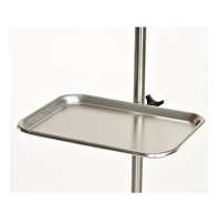 MCM 260 Stainless Steel Tray for IV Pole