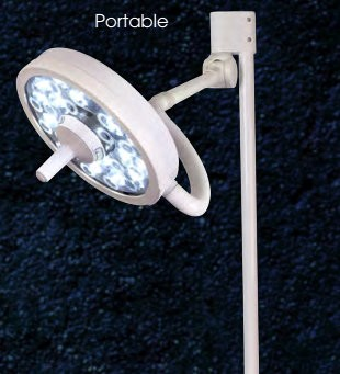 MI-550 LED Floor Mount Exam Light XLDE-FM-MI 550