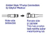 Stryker Medical Colder Style Replacement Connector Female 91367004