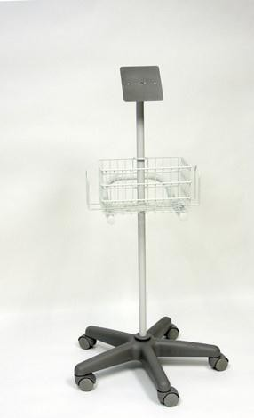 Hand-Held Doppler Stand with Storage Basket