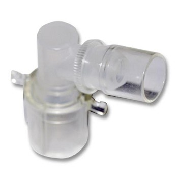 Trach Swivel Elbow Connector - 15mm  10 pack