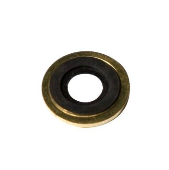 Brass Washer with Rubber Ring  25 pack