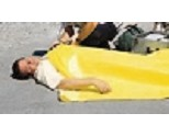 TIDI Emergency Blankets 58 X 90 Inches Bight Yellow Disposable 980043